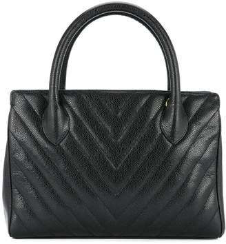 Chanel Pre-Owned 1991-1994 V quilt tote