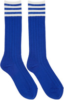 Undercover Blue Striped Socks