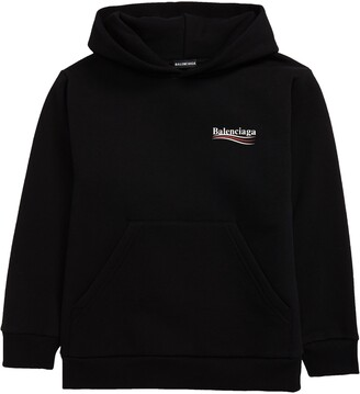 Balenciaga Campaign Logo Hooded Sweatshirt