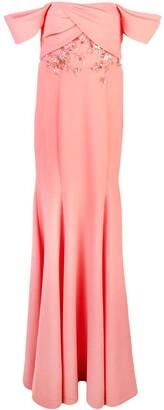 Marchesa Floor Length Dress