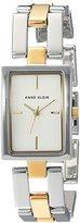 Anne Klein Women's Quartz Metal and Alloy Dress Watch, Color:Two Tone (Model: AK/2639SVTT)