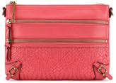 Elliott Lucca Coral Bali '89 Leather Three-Way Convertible Clutch