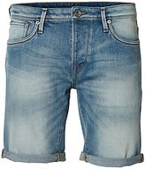 Selected Homme Alex Denim Shorts, Light Blue