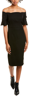 trina Trina Turk Trina By Trina Turk Off-The-Shoulder Midi Dress