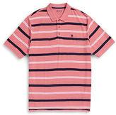Izod Big and Tall Advantage Striped Polo
