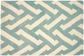 Nalbandian 9'10x6'5 Tefnut Flat-Weave Rug, Teal