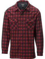 Pendleton Fitted Board Shirt - Long-Sleeve - Men's Red/Dark Red Plaid M