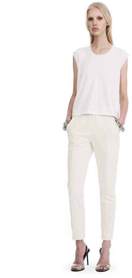 Alexander Wang DRY FRENCH TERRY PULL ON LEGGING PANTS