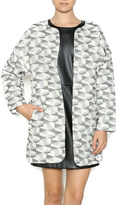 FRNCH Metallic Print Jacket