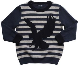 Il Gufo Eagle Intarsia Wool Knit Sweater