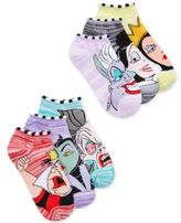 Disney Women's 6-Pk. Villians Socks
