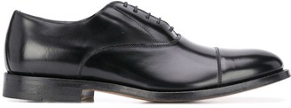Dell'oglio leather Derby lace-up shoes
