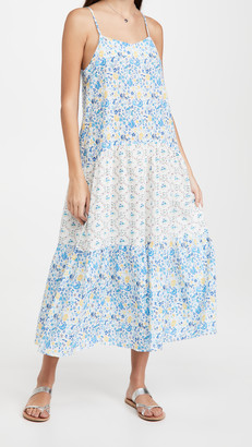 Playa Lucila Mix Print Maxi Dress