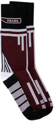 Prada jacquard socks