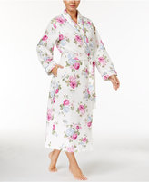 Charter Club Satin-Trimmed Quilted Wrap Robe, Only at Macy's