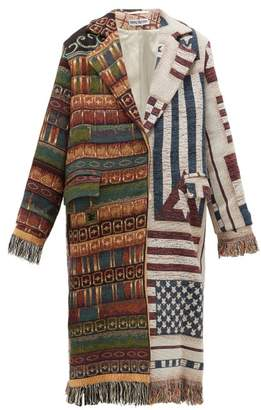 Rave Review - Livia Upcycled-blanket Cotton Coat - Womens - Multi