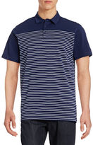 Horst Stripe Blocked Polo