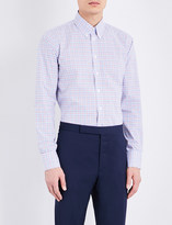 Turnbull & Asser Gingham regular-fit cotton shirt