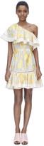 Rebecca Taylor Ella Fil Coupe One Shoulder Dress