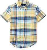 Ralph Lauren 2-7 Cotton Madras Shirt