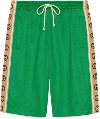 Gucci Technical jersey shorts