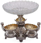 Corbell Silver Company Inc. 4-Pc Silver-Plated Epergne with Cherubs