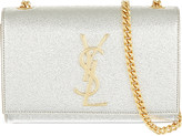 Saint Laurent Small metallic leather cross-body bag