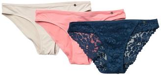 Lucky Brand Assorted Bikini - Pack of 3