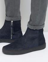 Paul Smith Deller Crepe Sole Chelsea Boots