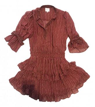 MISA Burgundy Dress for Women