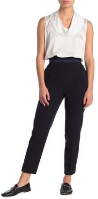 Calvin Klein Classic Knit Waist Strap Pants (Petite)