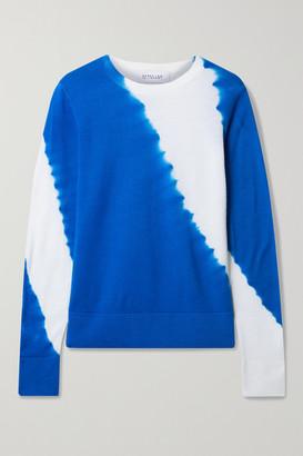 Derek Lam 10 Crosby Esta Tie-dyed Wool Sweater - Royal blue