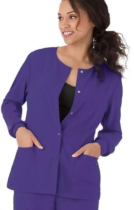 Jockey Plus Size Scrubs Classic Long Sleeve Jacket 2356