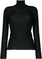 M Missoni turtleneck slim-fit jumper