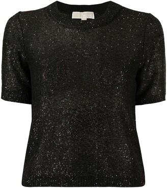 MICHAEL Michael Kors Sequin-Embellished Knit Top