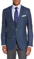 HUGO Men's Boss Hutsons Trim Fit Wool Blazer