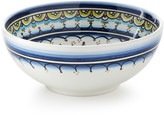 Neiman Marcus Pavoes Blue Green Cereal Bowls, Set of 4