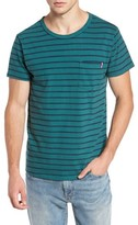 Sol Angeles Men's Vintage Stripe Pocket T-Shirt