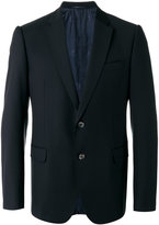 Armani Collezioni flap pockets blazer - men - Virgin Wool/Cupro/Viscose - 48