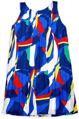Ralph Lauren Little Girl's Pleated Dress