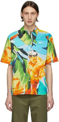 MSGM Multicolor Summer Print Shirt