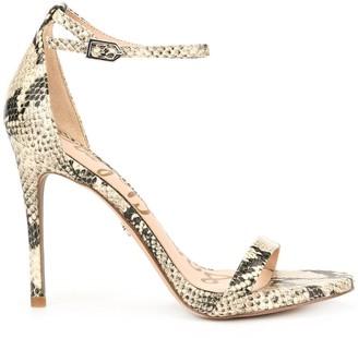 Sam Edelman Ariella snakeskin pattern sandals