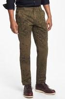 Camo PUBLISH BRAND 'Deco' Print Slim Fit Pants