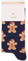 Oasis Gingerbread Man Socks