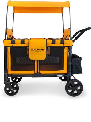 Wonderfold W4 Multi-Function 4-Passenger Quad Stroller Wagon