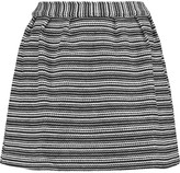 MAISON KITSUNÉ Jacquard-knit cotton-blend mini skirt