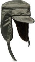 Junya Watanabe - Fleece-lined Satin Trapper Hat