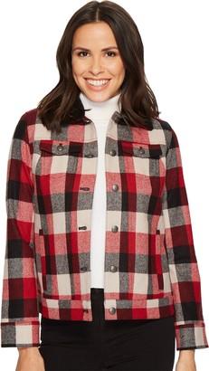 Pendleton Women's Timber Plaid Wool Jacket
