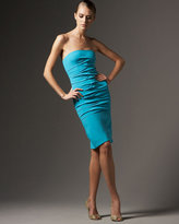 Strapless Ruched Charm Dress