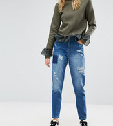 Kubban Tall Distressed Boyfriend Jean
